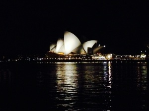 the Opera House showing off